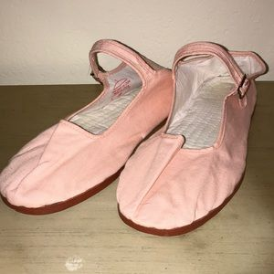 NWOT baby pink UO Mary Janes